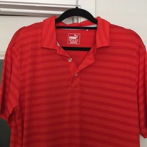 Puma Men's Golf Shirt Medium